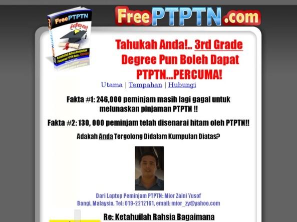 FREE PTPTN